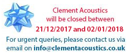 We are closed between 21/12/2017 and 02/01/2018